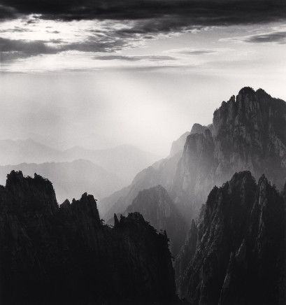 Michael Kenna, Huangshan Mountains, Study 62, Anhui, China, 2017