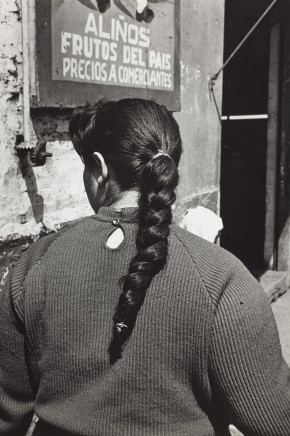 Sergio Larrain, Untitled (Woman's thread), Chile
