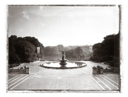 Christopher Thomas, Bethesda Fountain I, 2001