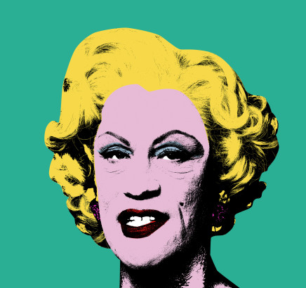 Sandro Miller, Andy Warhol / Green Marilyn (1962), 2014