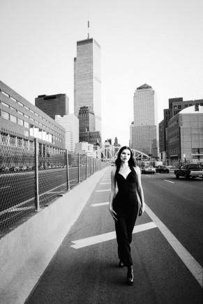 Stephanie Pfriender Stylander, Kate Moss, Towers, For Harper´s Bazaar Uomo, New York, 1992