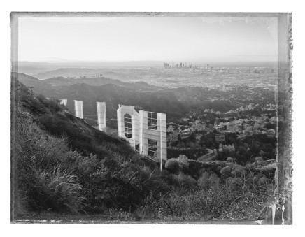Christopher Thomas, Hollywood Sign I, Hollywood Hills, 2017