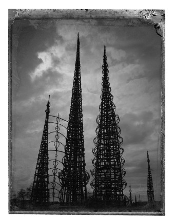 Christopher Thomas, Watts Towers, Los Angeles, 2016