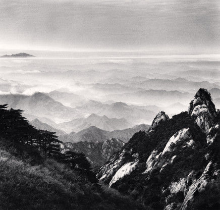 Michael Kenna, Huangshan Mountains, Study 51, Anhui, 2017