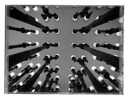 Christopher Thomas, Urban Light, LACMA, Los Angeles, 2016