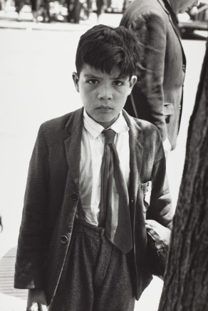 Sergio Larrain, Untitled (School Boy), Valparaiso, Chile