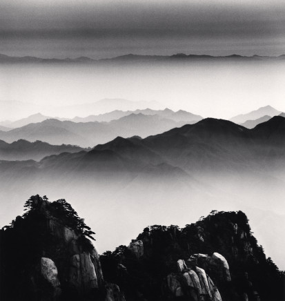 Michael Kenna, Huangshan Mountains, Study 12, Anhui, 2008