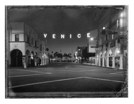 Christopher Thomas, Venice Sign, Venice, 2017