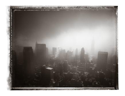Christopher Thomas, View from Rockefeller Center, 2009
