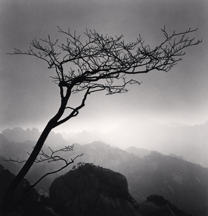 Michael Kenna, Huangshan Mountains, Study 24, Anhui, 2009