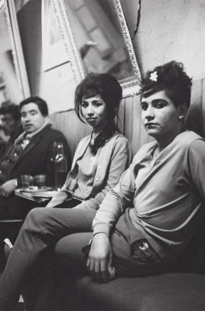 Sergio Larrain, Bar Los Siete Espejos (Bar Seven Mirrors), Valparaiso, Chile, 1963