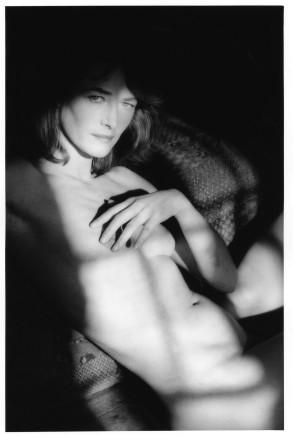 Jeanloup Sieff, Charlotte Rampling, Normandy, 1985