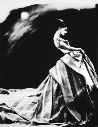 Lillian Bassman, Night Bloom, Anneliese Seubert, Paris, The New York Times, 1996