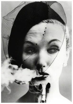William Klein, Smoke + Veil, Paris, VOGUE, 1958