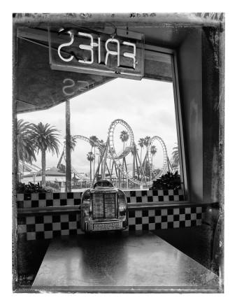 Christopher Thomas, Coasters Drive-In I, Knott´s Berry Farm, Buena Park, 2017