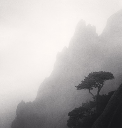 Michael Kenna, Huangshan Mountains, Study 23, Anhui, China, 2009