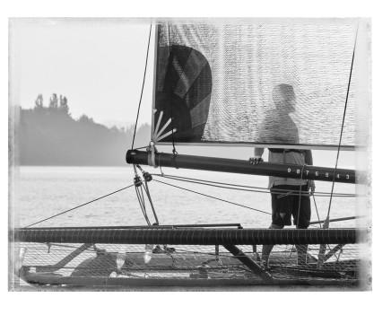 """Christopher Thomas, Regatta """"The Race"""" vor Langenargen III, 2019"""