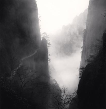 Michael Kenna, Huangshan Mountains, Study 34, Anhui, China, 2010