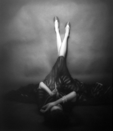 Lillian Bassman, The Well Dressed Leg, Dorian Leigh, 1948