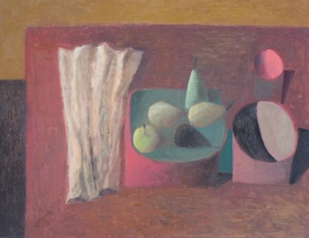Table with Red Bowl