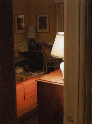 Lamp Through Arch