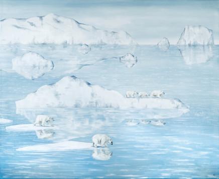 An Aurora of Polar Bears