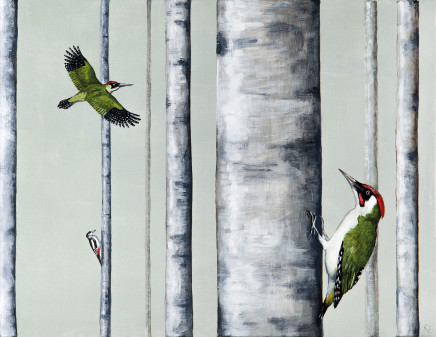 A Drilling of Woodpeckers