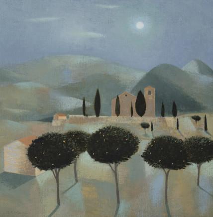 Moonlight in the Apennines