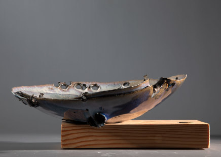 Allison Weightman, Shotgun bowl iv, 2019