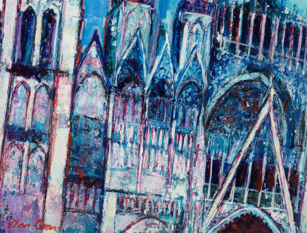 Ann Oram, Section of Rouen Cathedral