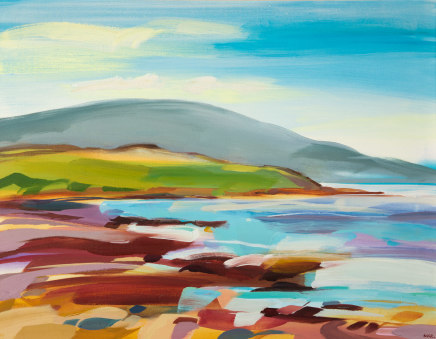 Shona Barr, South from Drigg