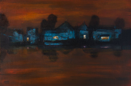 Robert McAulay, House on the Loch iv, 2019