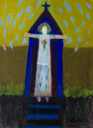 Ann Wegmuller RSW, Saint for the Rain, 2019