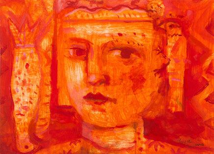 Joyce W Cairns, Minoan fragment, 2018