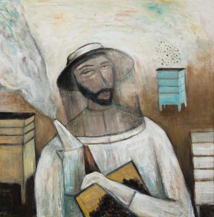 James Newton Adams, The Bee Keeper, 2018