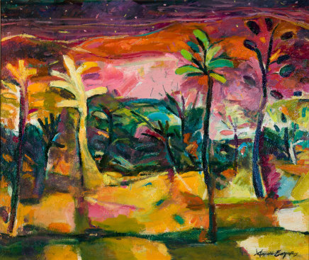 Annette Edgar, Trees in Starlight