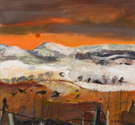 Christine Woodside RSW RGI, Sundown Cleish, 2019
