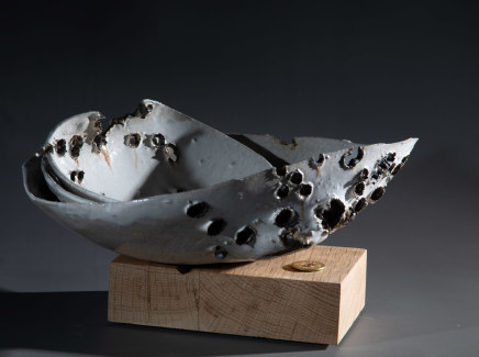 Allison Weightman, Shotgun bowl i, 2019