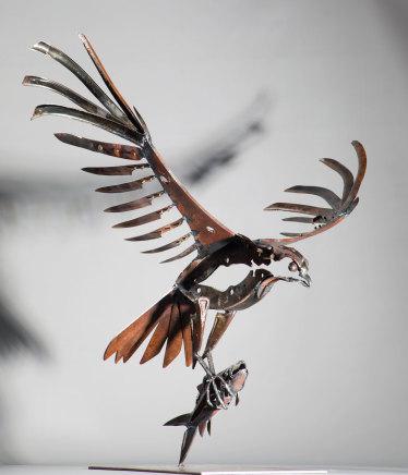 Helen Denerley, Osprey and Fish, 2019