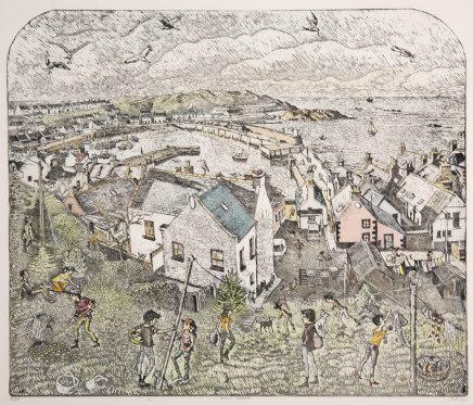 John Johnstone, Banff Harbour