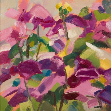 Shona Barr, Pink Clematis (study), 2019