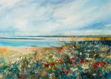 Sarah Carrington, Poppies and Flowers by the Sea