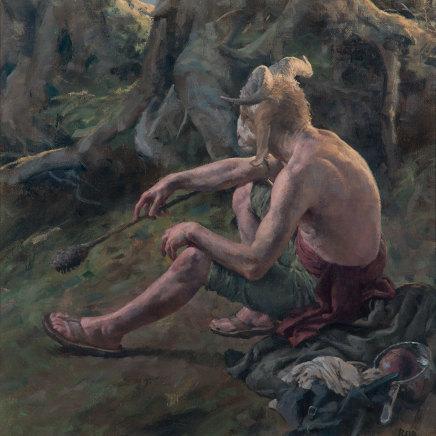 Paul Reid, Pan Forest study, 2015