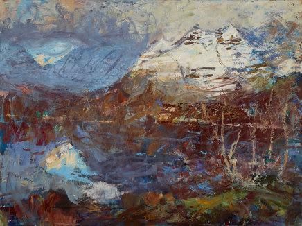 Allan MacDonald, passing place, Torridon, 2019