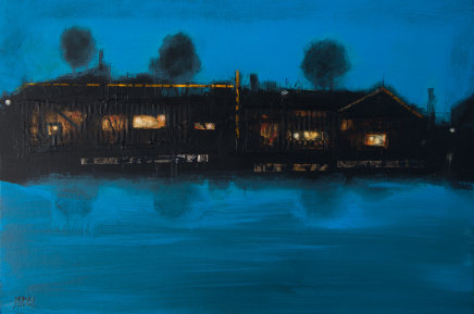 Robert McAulay, House on the Loch iii, 2019