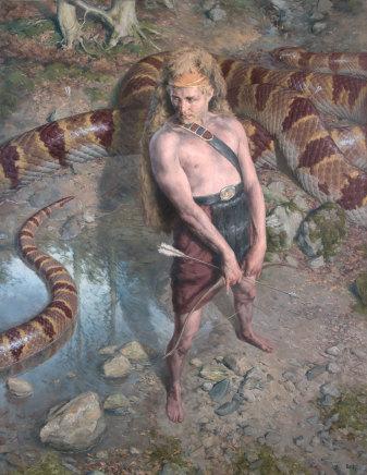 Paul Reid, Apollo and Python, 2015