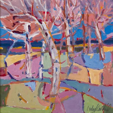 Catherine Imhof-Cardinal, Birches, 2018