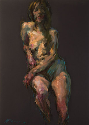 Alan McGowan, Figure in Half-Light, 2019