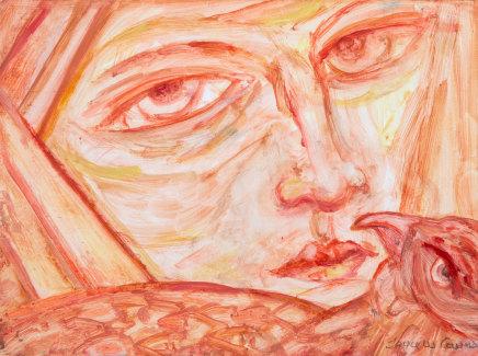 Joyce W Cairns, Conversation with a Kestrel, 2018