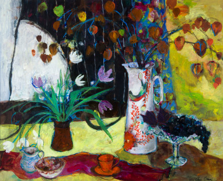 Ann Oram, Yellow Still-life